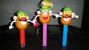 make a face potato heads