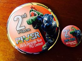 POTR 2015- 2nd place button
